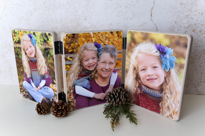 Wooden Folding Trio - Finished Photography Product
