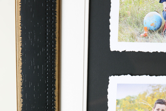 Framed Torn Print Details - Finished Photography Product