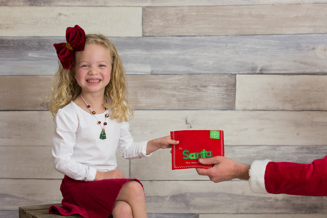 Child's Christmas Photo Session Captured by Denver Colorado Photographer Donna Young