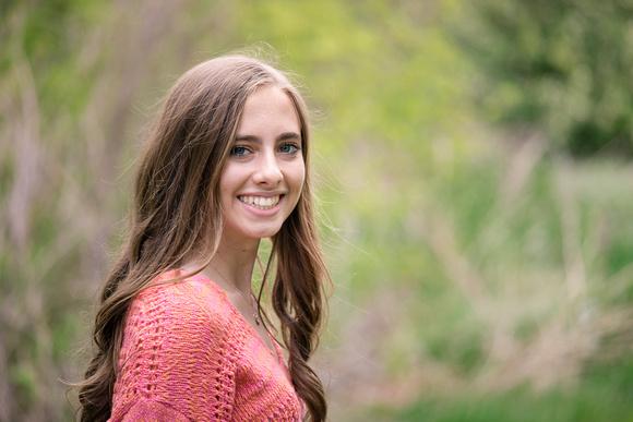 Senior Portraits - Outdoor Session - Denver Colorado Photographer