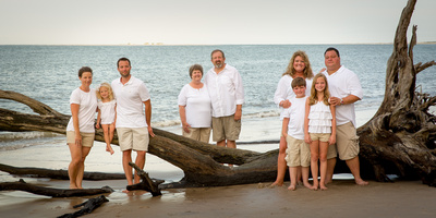 Extended Family Photo - Beach Session