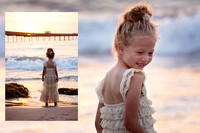 Little Girls Beach Princess Session