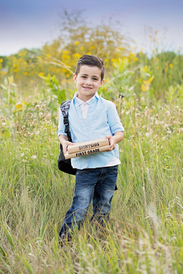 Child's Back to School Photo Session Captured by Aurora Colorado Photographer Donna Young