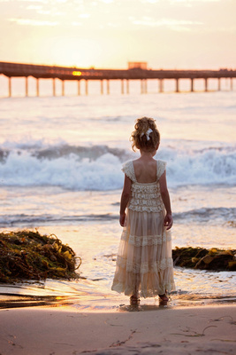 Child's Beach Photo Session Captured by Aurora Colorado Photographer Donna Young