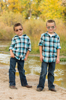 Brother's Photo Captured by Aurora Colorado Photographer Donna Young