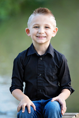 Child's Portrait Session Captured by Aurora Colorado Photographer Donna Young
