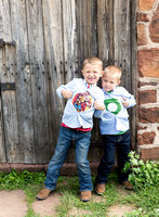 Brother's Super Hero Session Captured by Aurora Photographer Donna Young