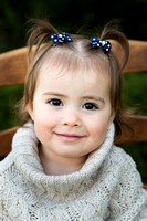 Child's Portrait Captured by Aurora Colorado Photographer Donna Young
