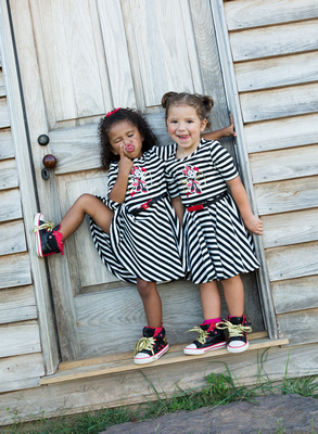 Child's Best Friend Photo Session Captured by Aurora Colorado Photographer Donna Young