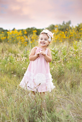 Little Girl's Princess Photo Session Captured by Aurora Colorado Photographer Donna Young